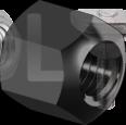DIN 6330   Гайка висока 10 (без покриття)