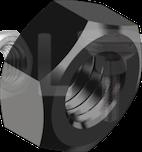 DIN 934 Гайка дрібний крок різьби (без покриття) 10