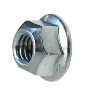 DIN 6927 Гайка самоконтруюча з фланцем (цинк білий) 10
