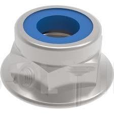 DIN 6926 Гайка самоконтруюча з фланцем (цинк білий) 10