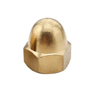 DIN 1587 Гайка колпачковая (латунь)
