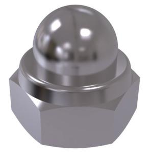 DIN 986   Гайка  ковпачкова глуха  (цинк білий)