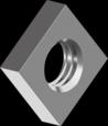DIN 562 Гайка квадратная низкая (цинк белый)