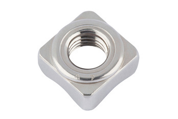 DIN 928 Гайка квадратна (нержавіюча сталь) A2 приварна
