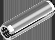 ISO 8752 Штифт  трубчатый разрезной пружинный цилиндрический
