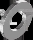 DIN 125 Шайба плоска Клас міцності 140HV