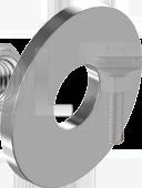 DIN 9021 Шайба увеличенная  (нержавеющая сталь) А2