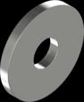 DIN 440 Шайба плоска збільшена 100HV для дерев'яних конструкцій