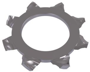 DIN 6797А Шайба пружинная с внешним зубчатым венцом