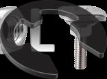 DIN 6799 Шайба упорна швидкознімна стопорна для вала (без покриття)