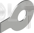 DIN 93 Шайба стопорна з лапкою А2
