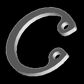 DIN 472 Кольцо упорное внутреннее для отверстия А1