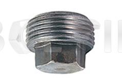 DIN 909 - пробка (заглушка) з шестигранною головкою.