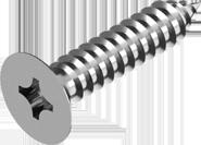 DIN 7982 Саморез по металлу А2 с потайной головкой