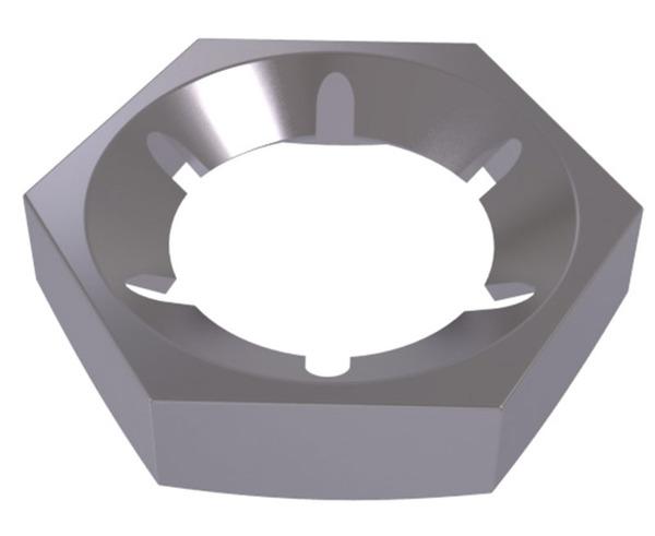 DIN 7967 Гайка пружинная стопорная с внутренними лапками