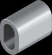 DIN 3093 Зажим для тросу алюмінієвий