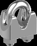 DIN 1142 Зажим для сталевих канатів і тросів посилений