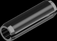 DIN 7346 Штифт  трубчатый разрезной пружинный цилиндрический