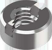 DIN 546 Гайка кругла шліцева