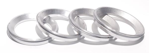Кольцо центровочное без бортика 54.1-75 алюминий