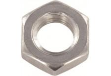 DIN 936 Гайка низкая шестигранная  мелкий шаг (цинк белый) 04