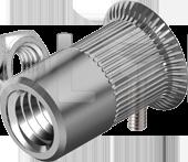 AN 315 Заклепки цилиндрические цилиндрические с цилиндрическим фланцем
